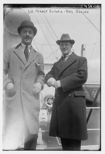 Sir Connop Guthrie, Fred. Benson