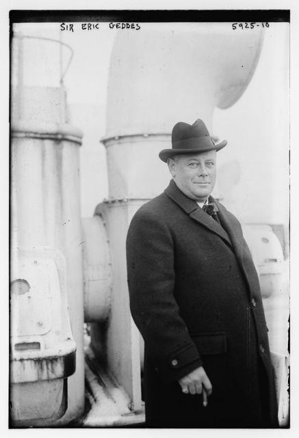 Sir Eric Geddes
