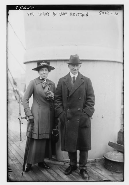 Sir Harry & Lady Brittain