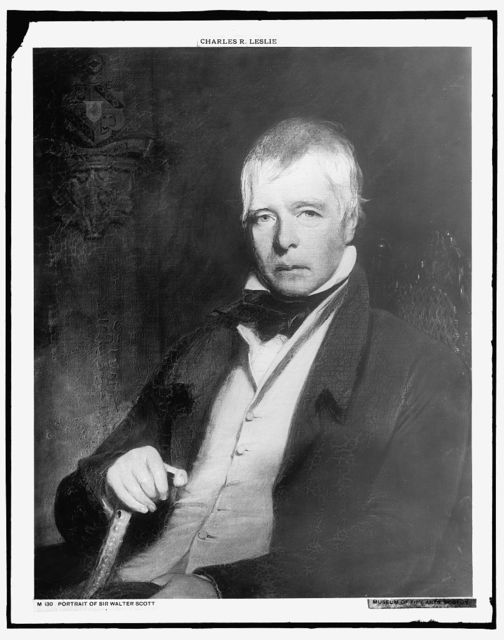 [Sir Walter Scott, head-and-shoulders portrait]
