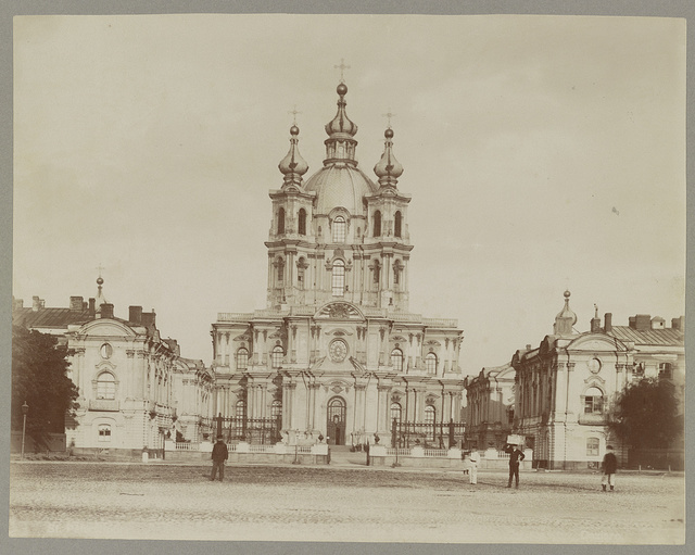 [Smolny Cathedral, St. Petersburg, Russia]