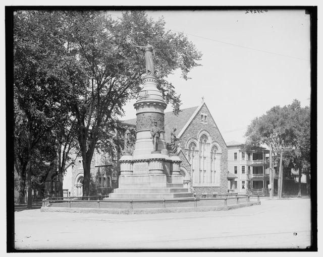 [Soldiers' monument, Utica, N.Y.]