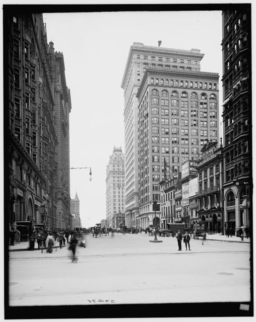 [South Broad Street from City Hall, Philadelphia, Pa.]