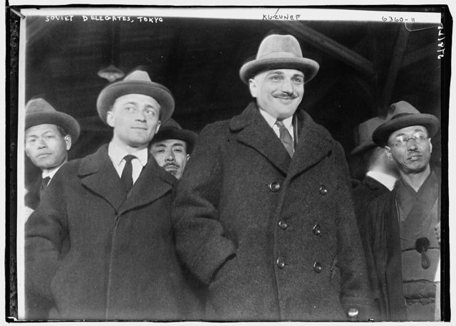 Soviet Delegates, Tokyo: Kuzunef
