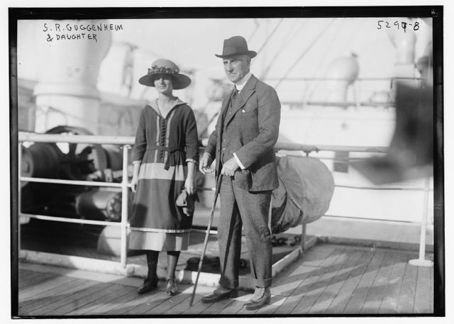 S.R. Guggenheim & daughter