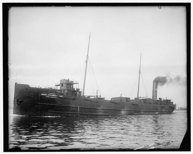 S.S. Starrucca, [United Steamboat Line, Erie Railroad]