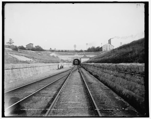 St. Clair tunnel, Port Huron, Mich.