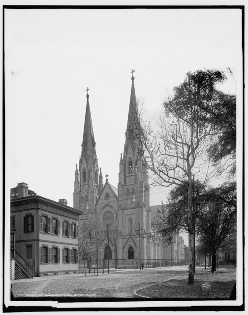 St. John's Cathedral, Savannah, Ga.