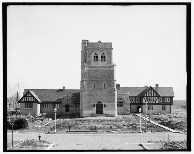 [St. Mary's Episcopal Church, front view, Walkerville, Canada]