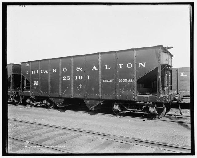 Standard coal car on C. & A. Ry. [i.e. Chicago & Alton Railway]