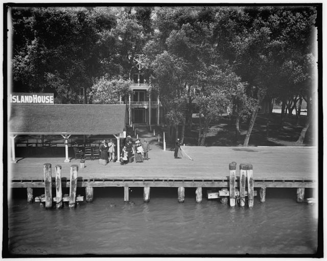 [Star Island House, St. Clair Flats, Mich.]