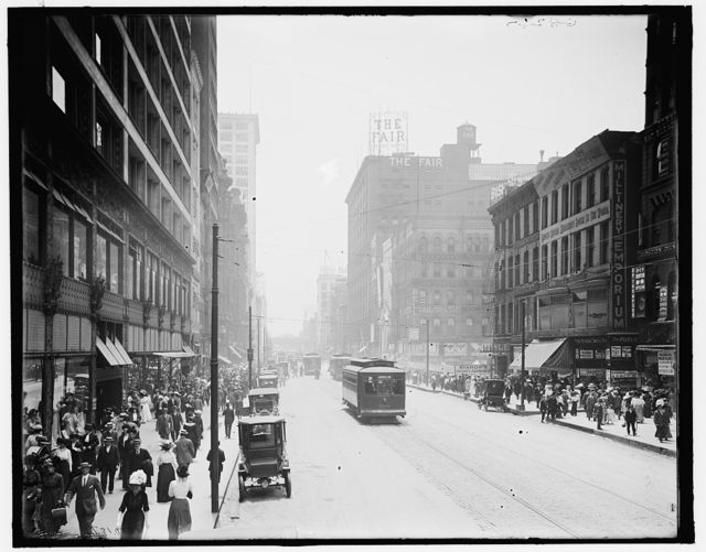 [State Street, south from Madison, Chicago, Ill.]