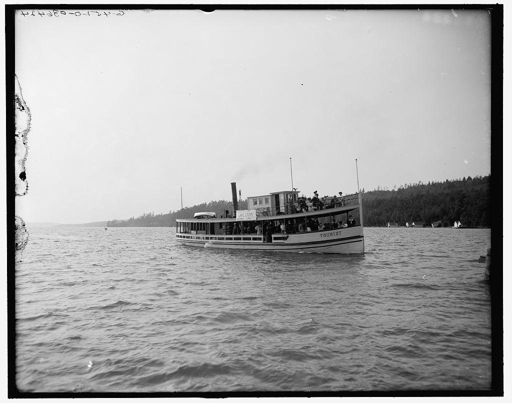 [Steamer Tourist, Walloon Lake, Mich.]