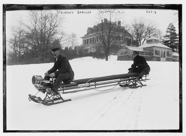 Steinhoff bobsled, for two people, Caldwell, N.J.