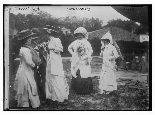 Stella Club - four women incl. Mme. Bleriot