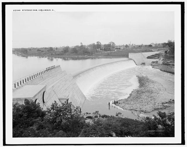 Storage dam, Columbus, O[hio]