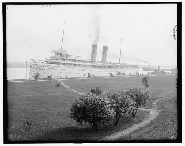 [Str. North West at Sault Ste. Marie, Mich.]