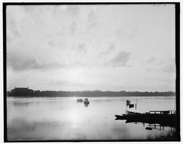 [Sunrise on Lake Worth, West Palm Beach, Fla.]
