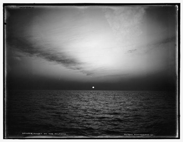 Sunset on the Atlantic