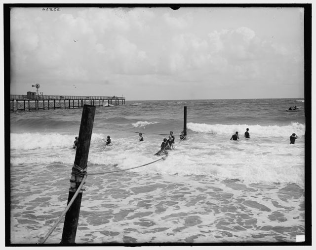 [Surf bathing, Palm Beach, Fla.]