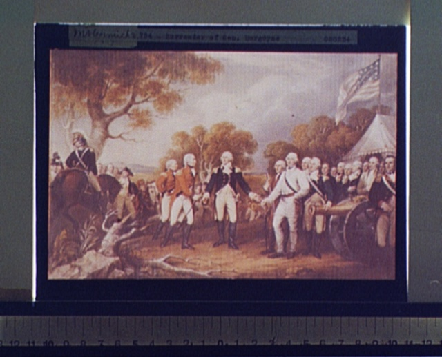Surrender of Gen. Burgoyne