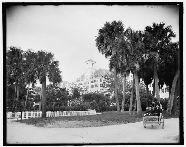 [S.W. view, Royal Poinciana, Palm Beach, Fla.]