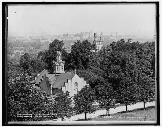 Syracuse, N.Y., from the University