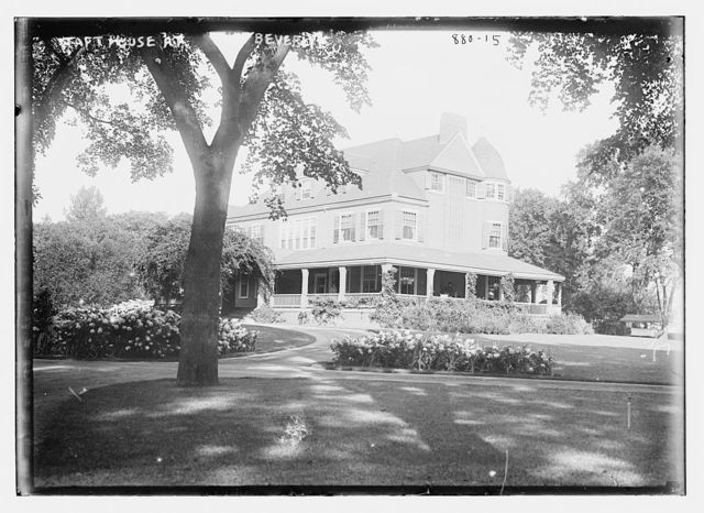 Taft house, exterior, Beverly