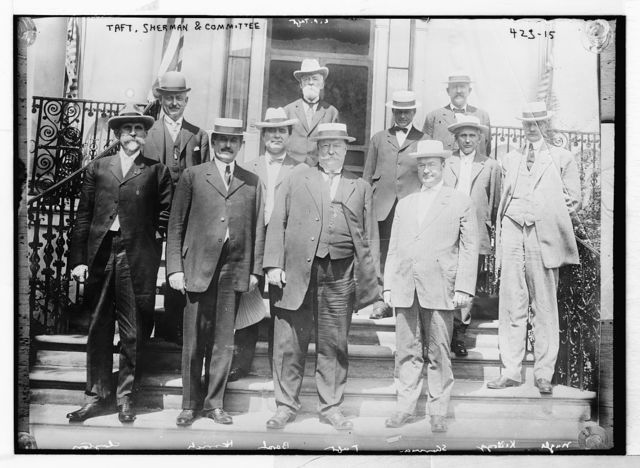 Taft, Sherman and committee