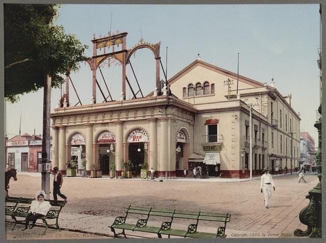 Teatro de Tacon, Habana