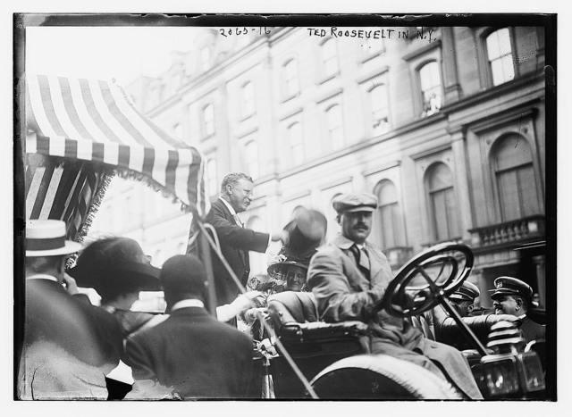 Ted Roosevelt in N.Y.