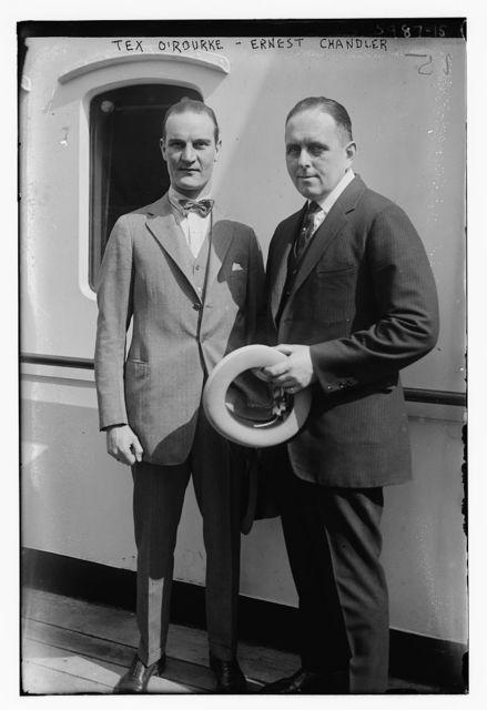 Tex O 'Rourke - Ernest Chandler