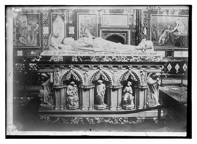 The Albert Memorial, Windsor, Albert's tomb