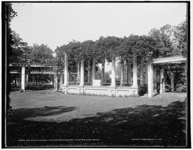 The Amphitheatre and Rostrum, National Cemetery, Arlington