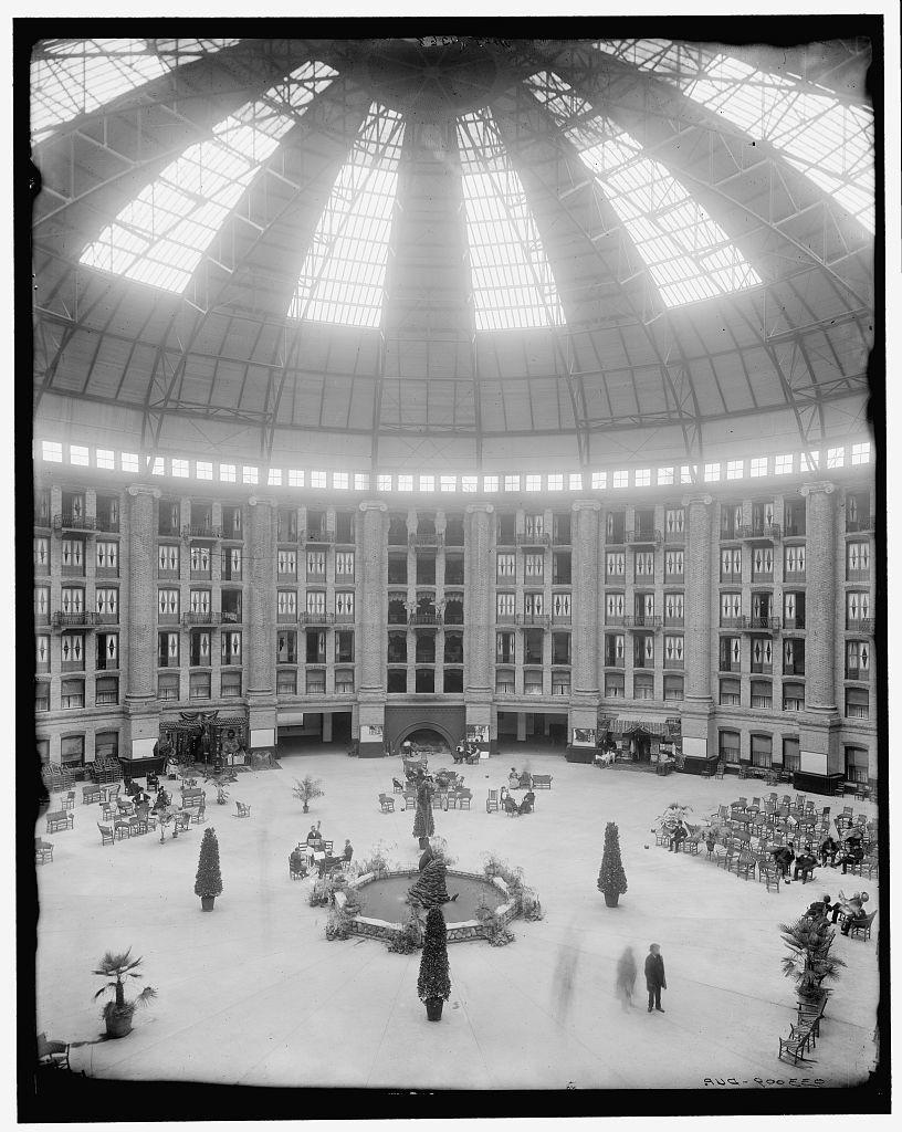 [The atrium, West Baden Springs Hotel, West Baden, Indiana]