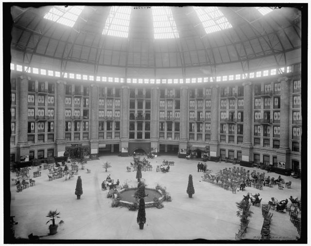 [The atrium, West Baden Springs Hotel, West Baden, Indiana]