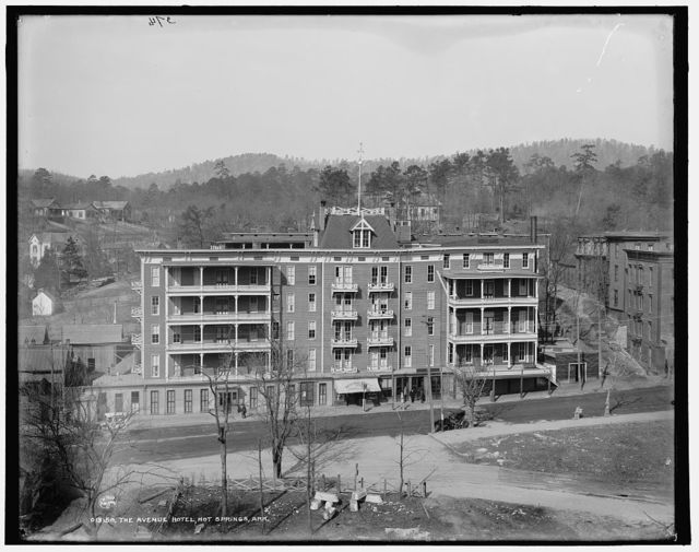 The Avenue Hotel, Hot Springs, Ark.
