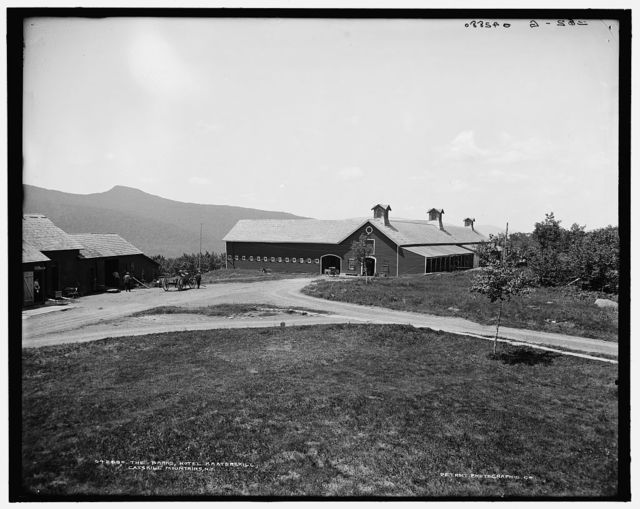 The Barns, Hotel Kaaterskill, Catskill Mountains, N.Y.