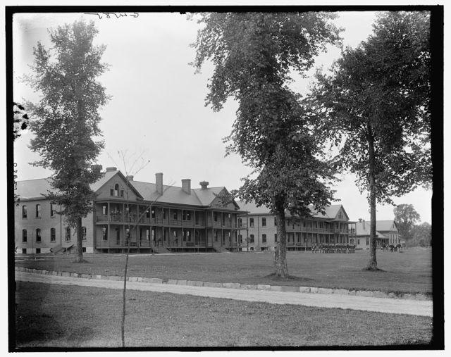 [The Barracks, Fort Brady, Sault Ste. Marie, Mich.]