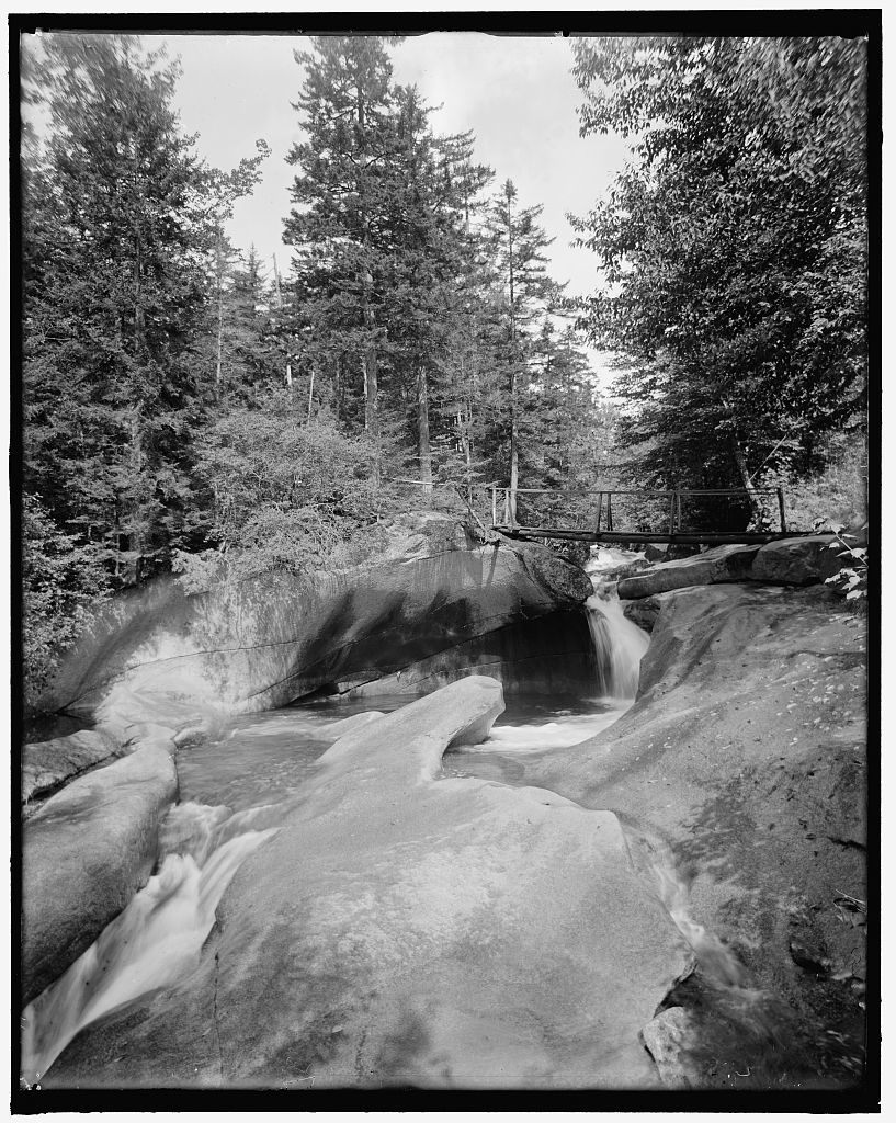 [The Basin, Franconia Notch, White Mts., N.H.]