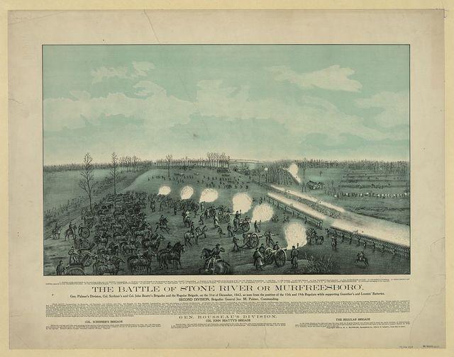 The battle of Stone River or Murfreesboro'