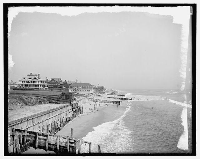[The Beach, Elberon (Long Branch), N.J.]