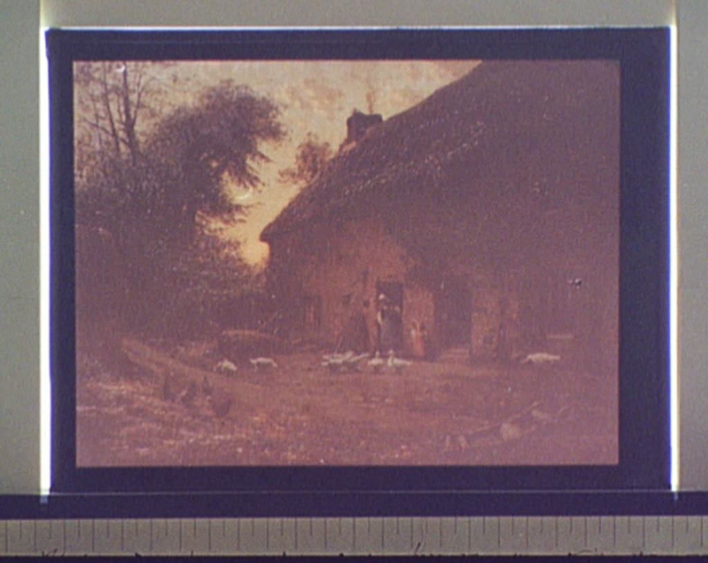 [The birthplace of Francois Millet at Gruchy, Normandie]