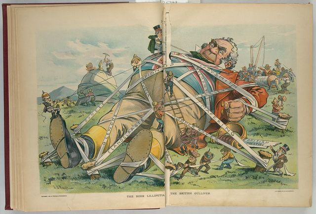 The Boer Lilliputia[n] - the British Gulliver / J.S. Pughe.
