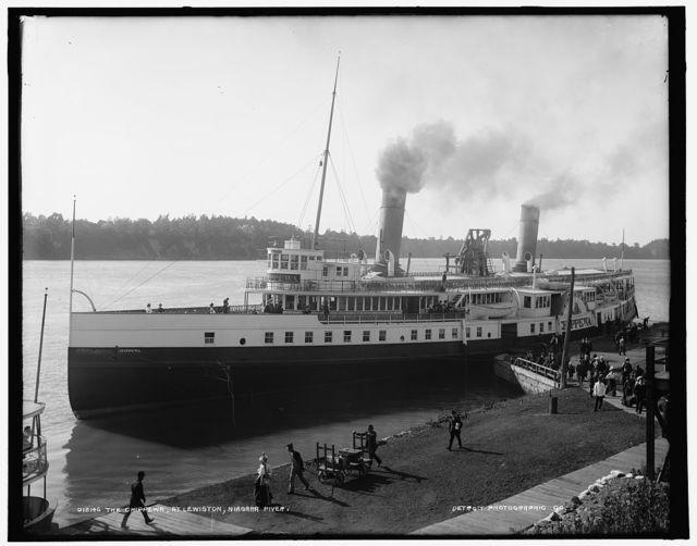 The Chippewa, at Lewiston, Niagara River