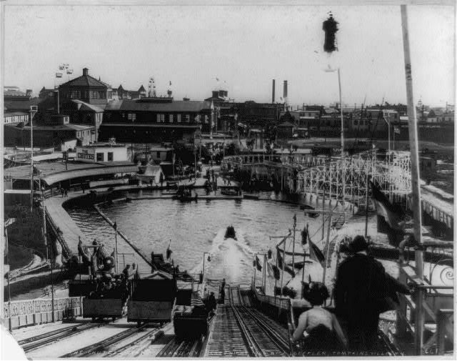 The Chutes, Coney Island, N.Y.