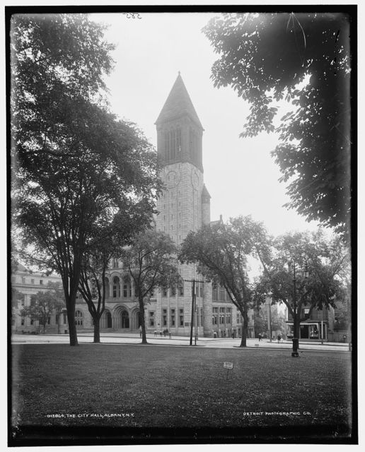 The City Hall, Albany, N.Y.