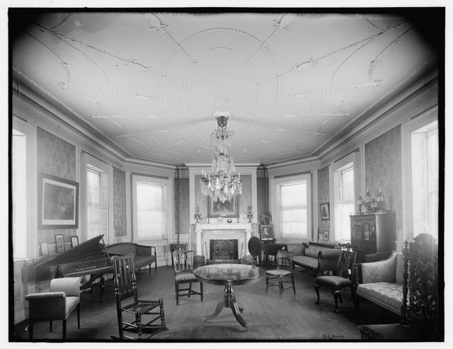 The Council chamber, Washington's headquarters, Morris-Jumel Mansion