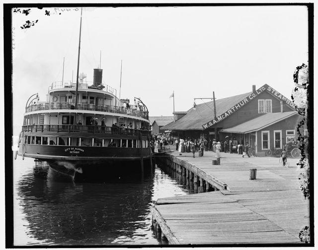[The Dock, Cheboygan, Mich.]