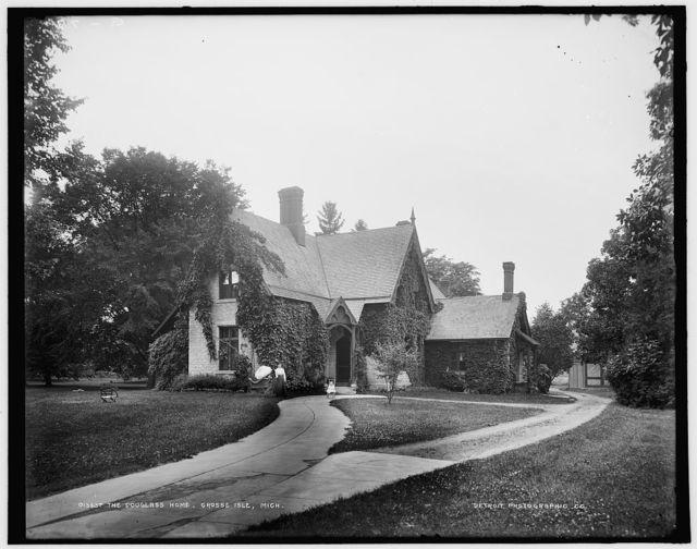 The Douglass home, Grosse Isle, Mich.